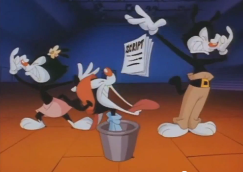 C'est un peu ma réaction devant un cartoon, tiens...